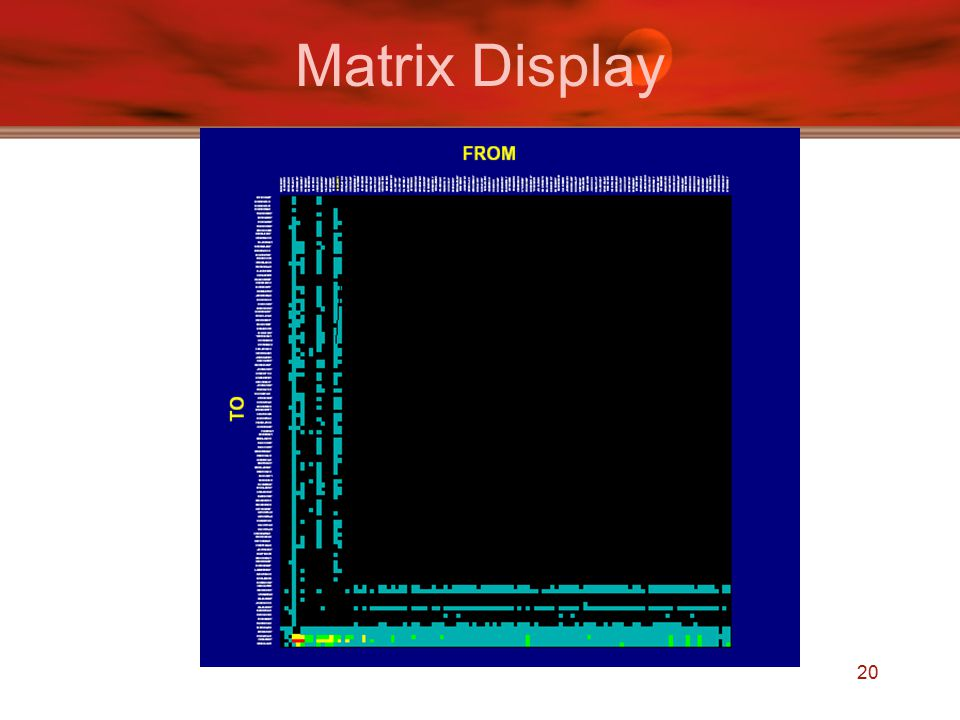 20 Matrix Display