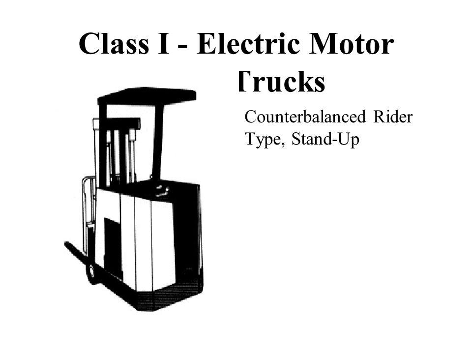 Counterbalanced Rider Type, Stand-Up