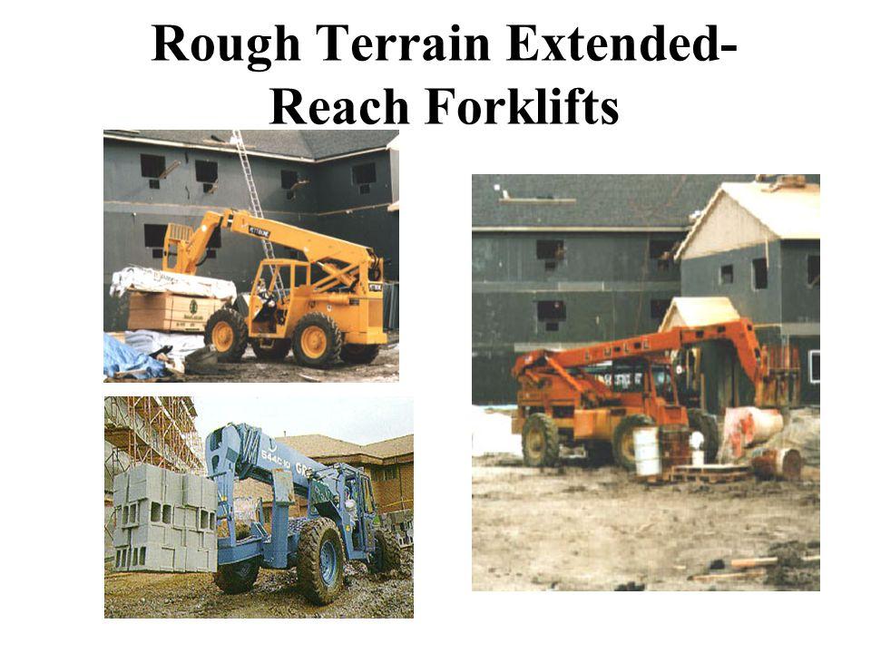 Rough Terrain Extended- Reach Forklifts