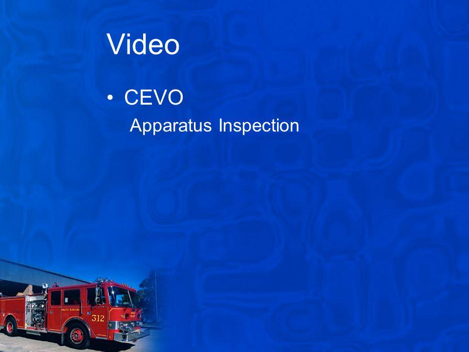 Video CEVO Apparatus Inspection