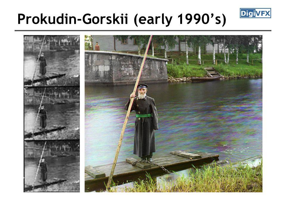 Prokudin-Gorskii (early 1990's)