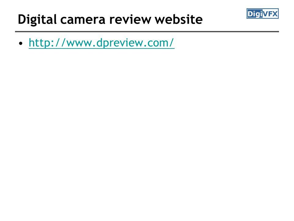 Digital camera review website http://www.dpreview.com/