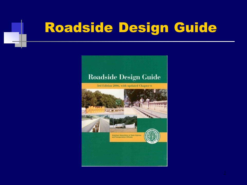 Roadside Design Guide 2