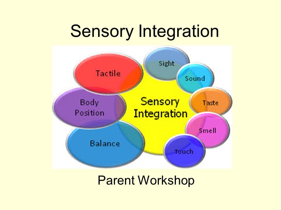 Sensory Integration Parent Workshop