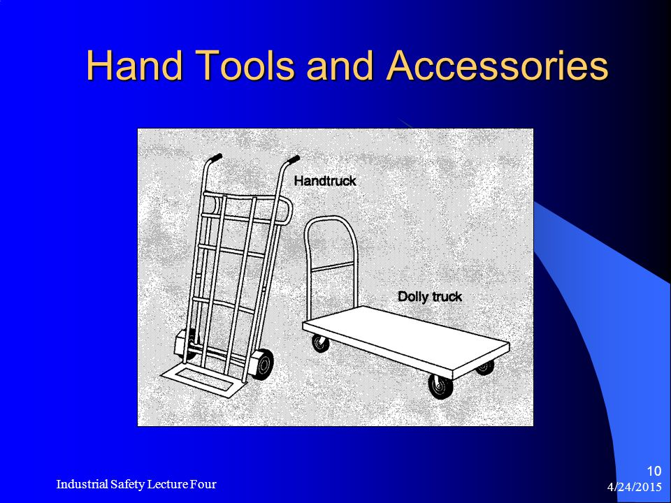 4/24/2015 Industrial Safety Lecture Four 9 Examples of Lifting Equipment