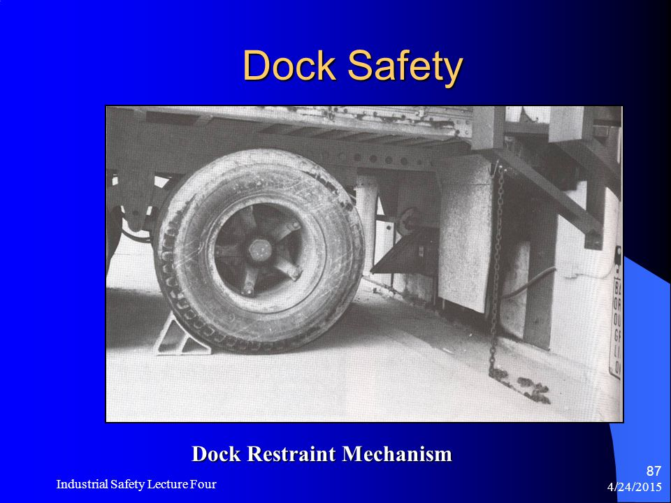 4/24/2015 Industrial Safety Lecture Four 86 Dock Safety Portable Docking Plate