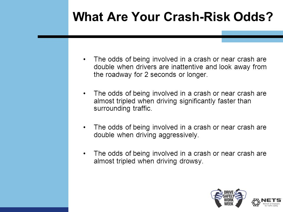 What Are Your Crash-Risk Odds.