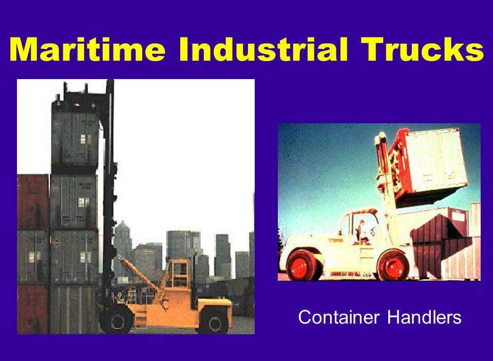 Container Handlers Maritime Industrial Trucks