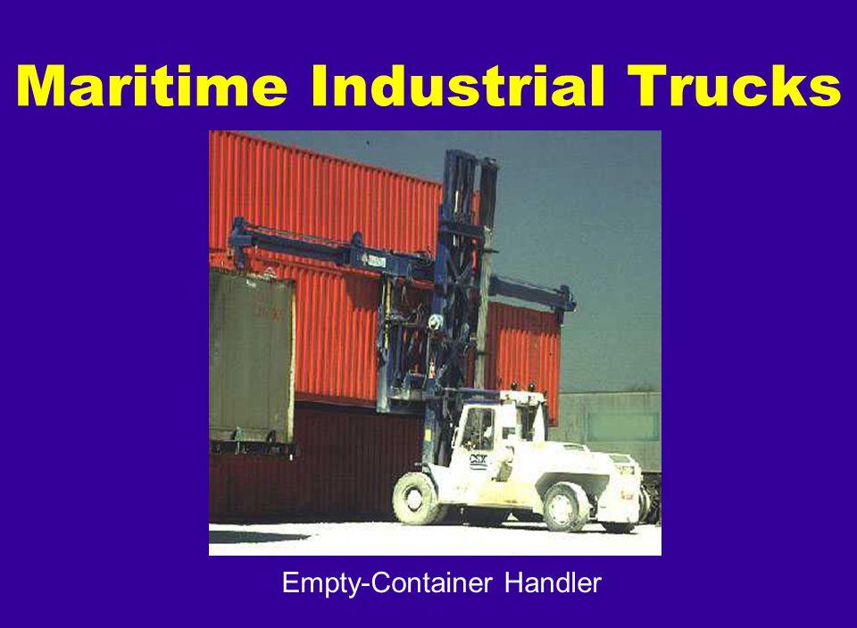Empty-Container Handler Maritime Industrial Trucks