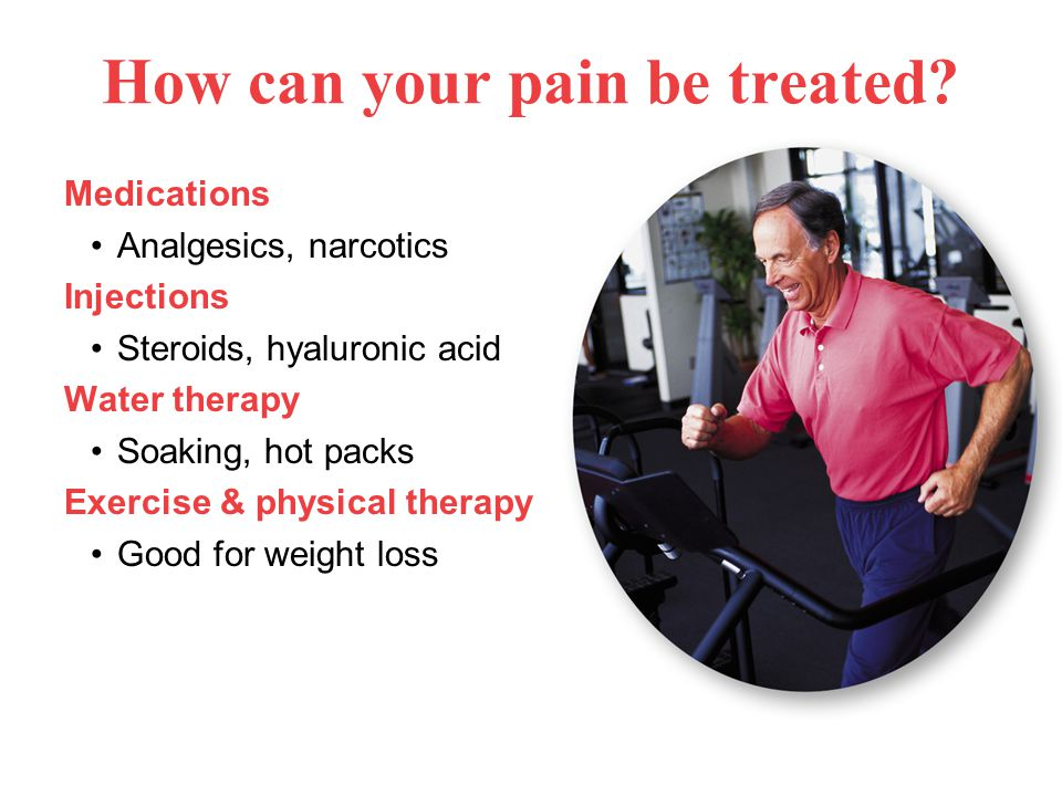How can your pain be treated.