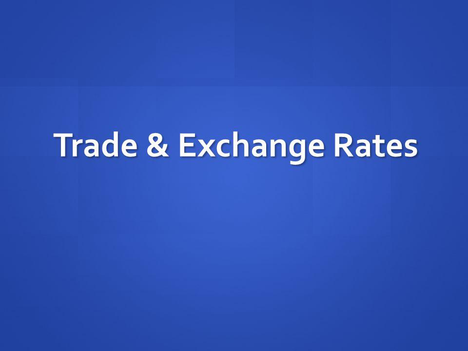 Trade & Exchange Rates