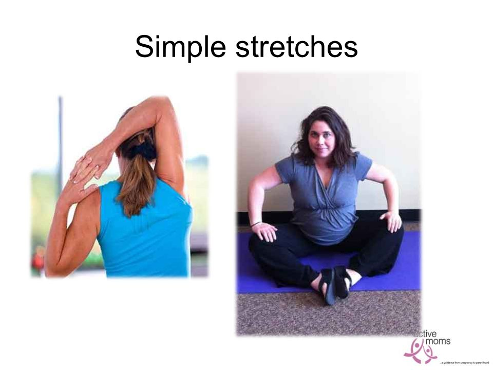 Simple stretches