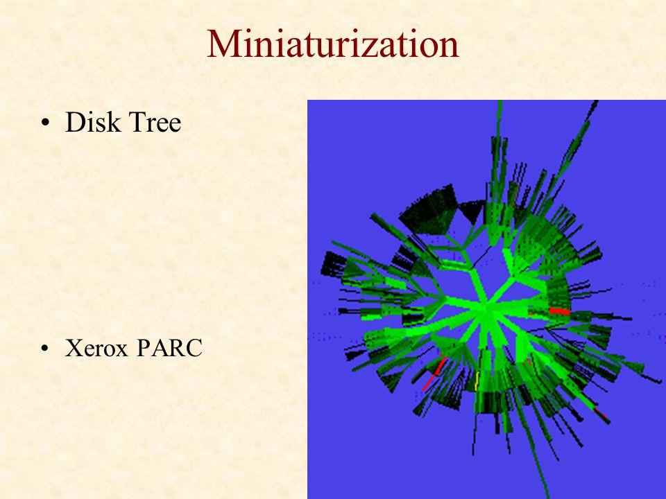 Miniaturization Disk Tree Xerox PARC