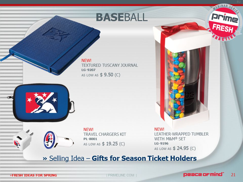 | PRIMELINE.COM | EU »FRESH IDEAS FOR SPRING 21 » Selling Idea – Gifts for Season Ticket Holders NEW.