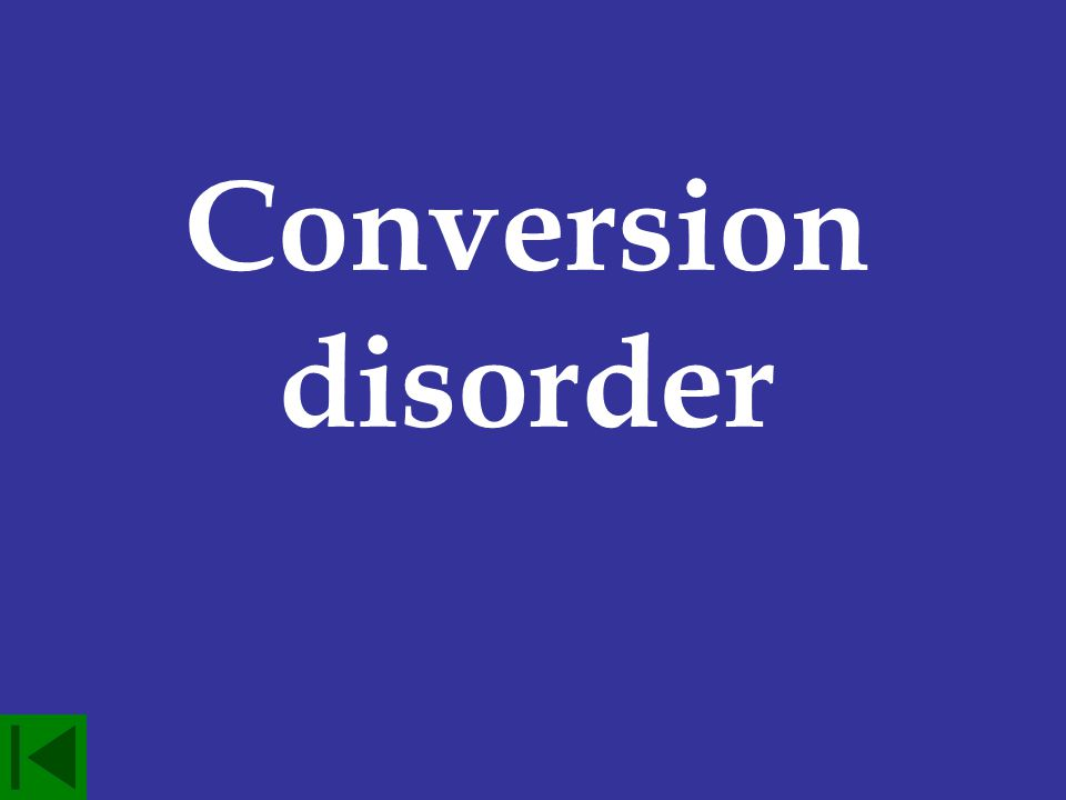 These disorders are marked by the loss of functioning of a specific body part but have no physiological cause.