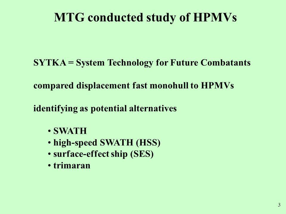 14 SWATH SLICE source: Lockheed Martin Lower resistance through wave system interaction