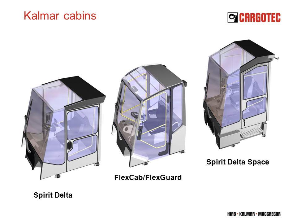 Kalmar cabins Spirit Delta Spirit Delta Space FlexCab/FlexGuard