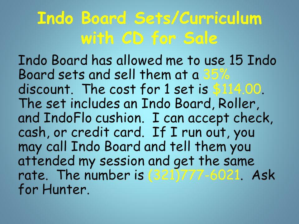 Videos -Indo Boards Indo Board Video