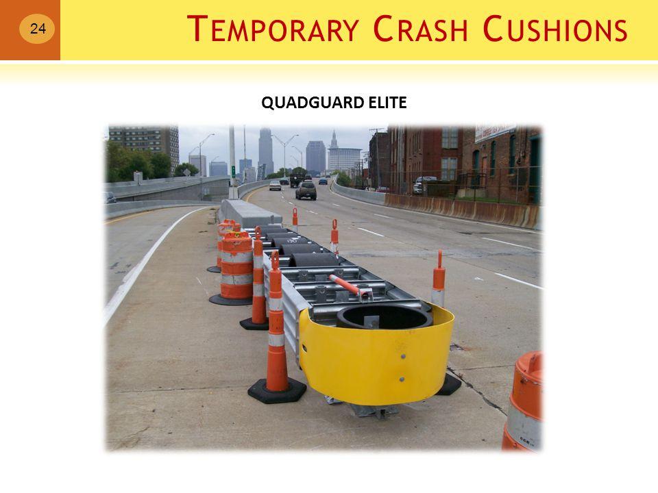 T EMPORARY C RASH C USHIONS 24 QUADGUARD ELITE