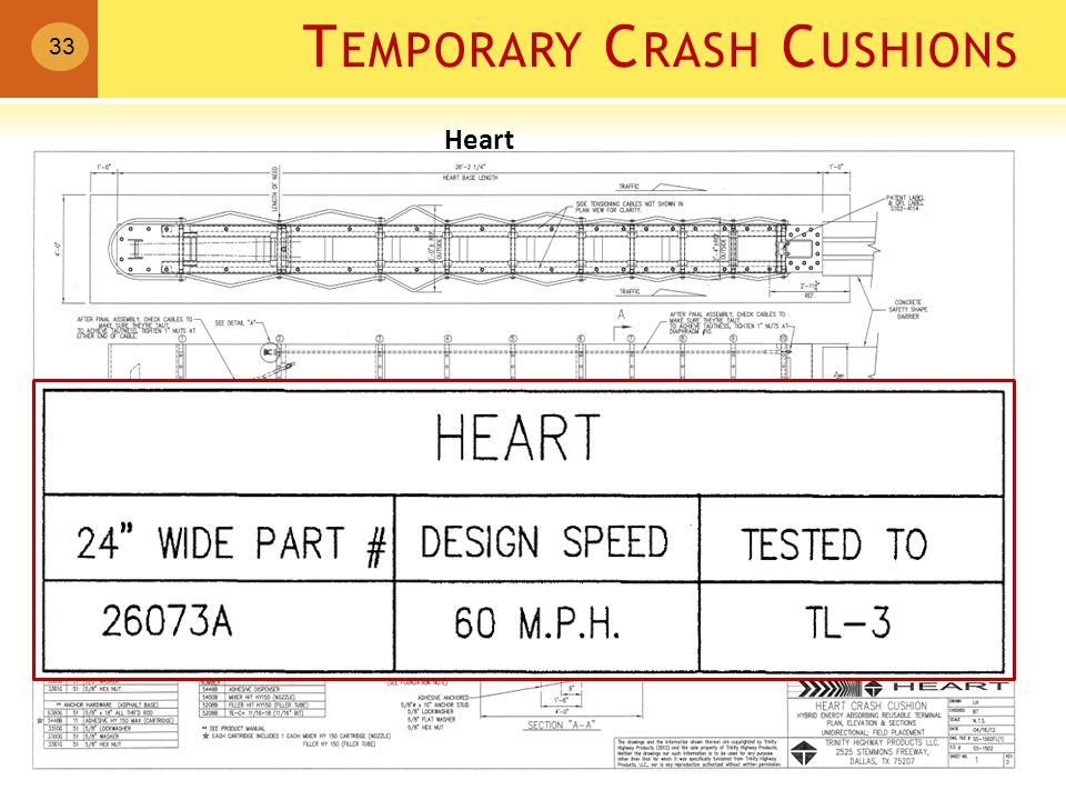 T EMPORARY C RASH C USHIONS 33 Heart