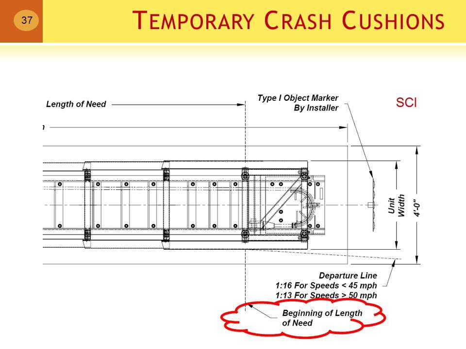 T EMPORARY C RASH C USHIONS 37