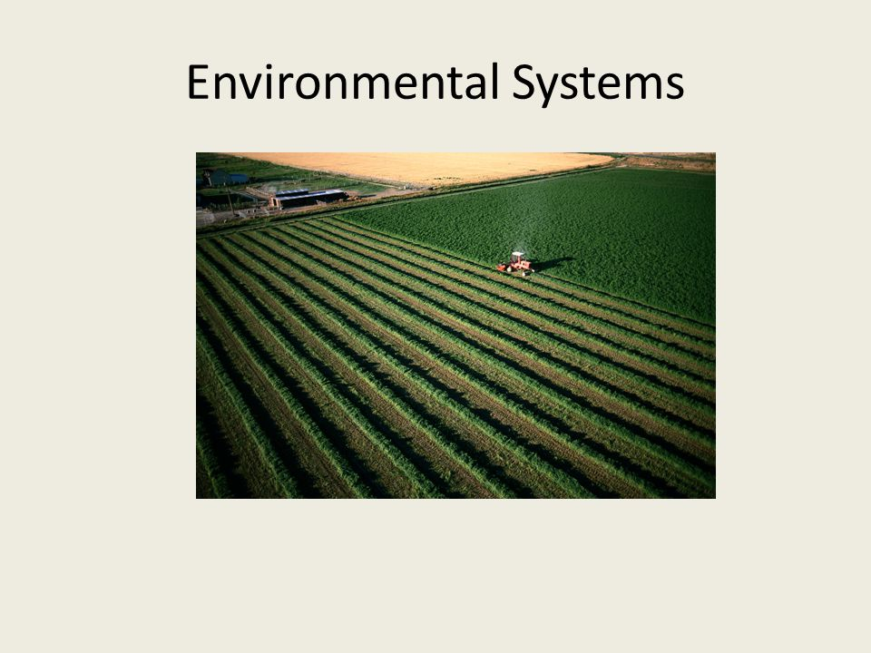 Environmental Systems