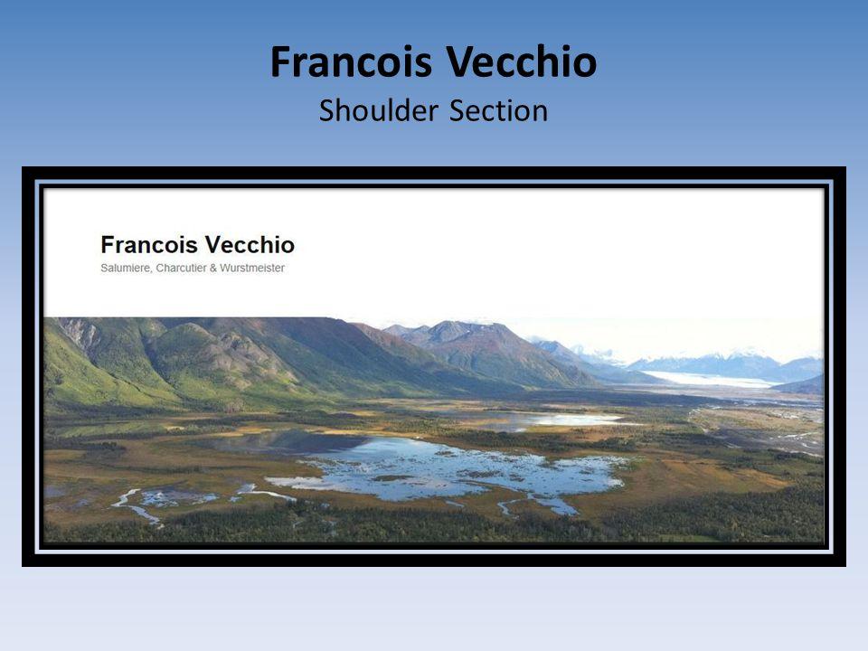 Francois Vecchio Shoulder Section