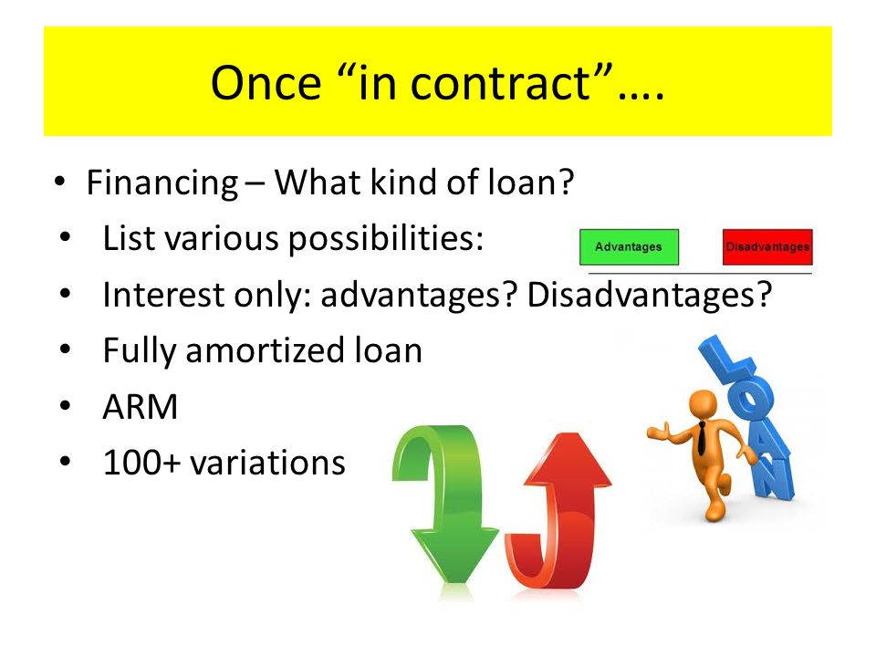 Found the loan you want….Bank – lender What steps will (should) bank take (due diligence).