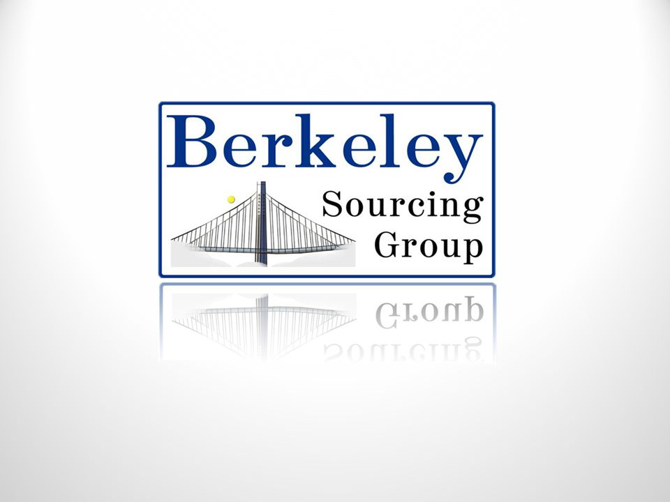 Company Profile Berkeley Sourcing Group is a Turnkey Manufacturing Management Company for new products to be produced in China.