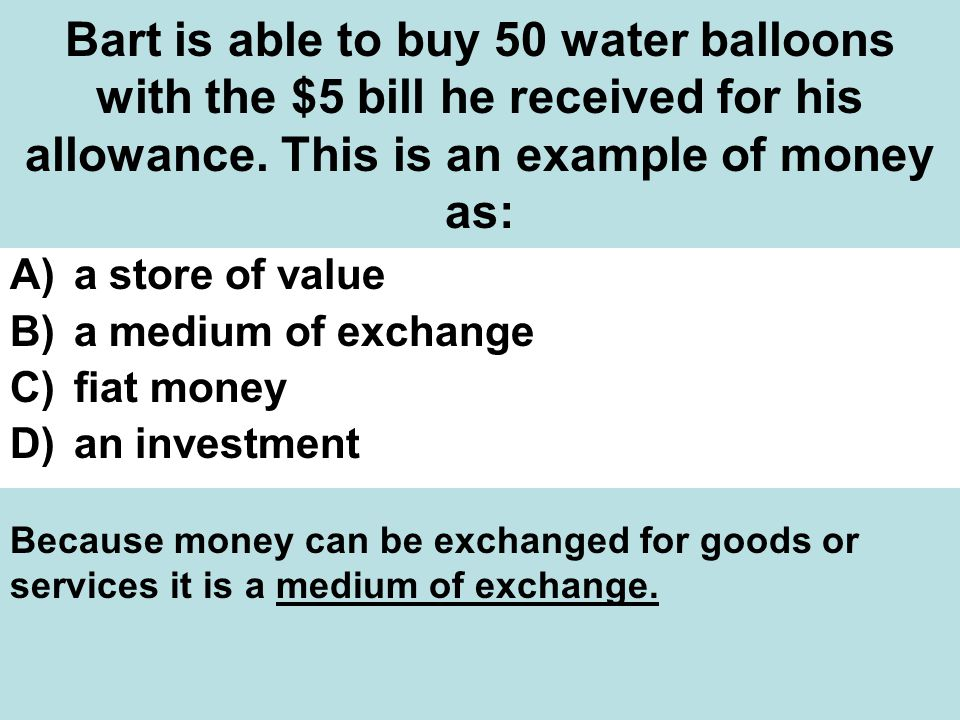 Bart is able to buy 50 water balloons with the $5 bill he received for his allowance.