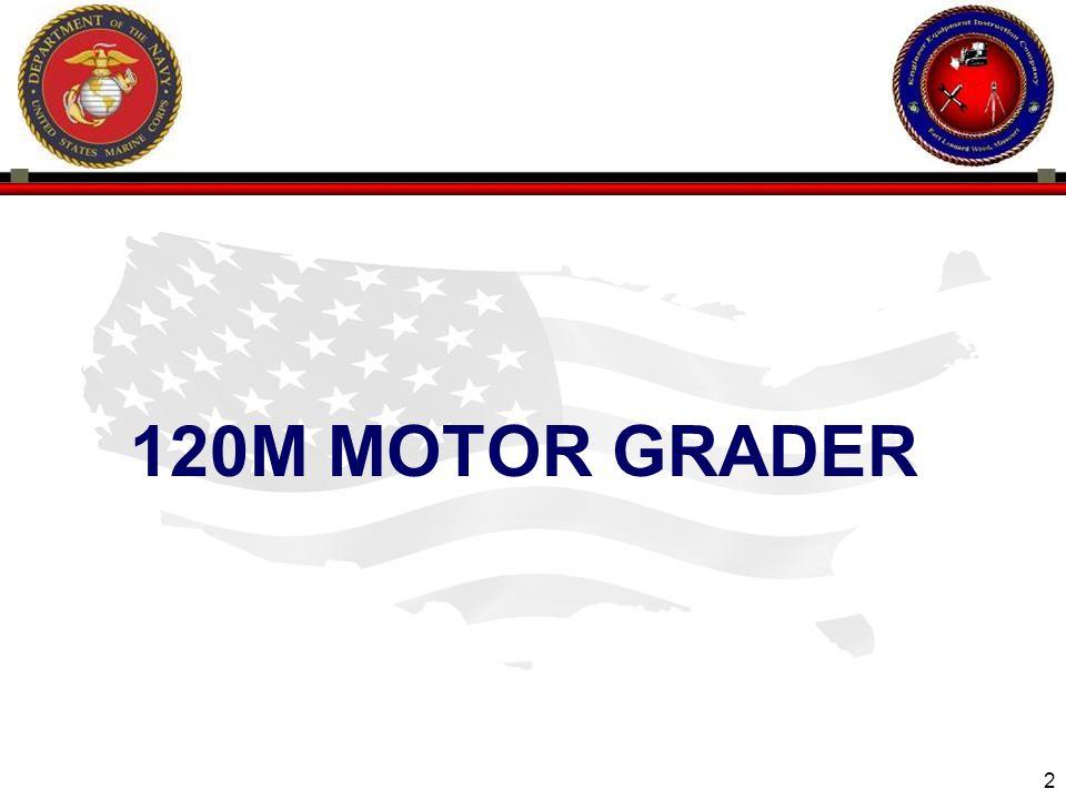 2 120M MOTOR GRADER