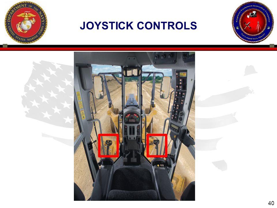 40 JOYSTICK CONTROLS