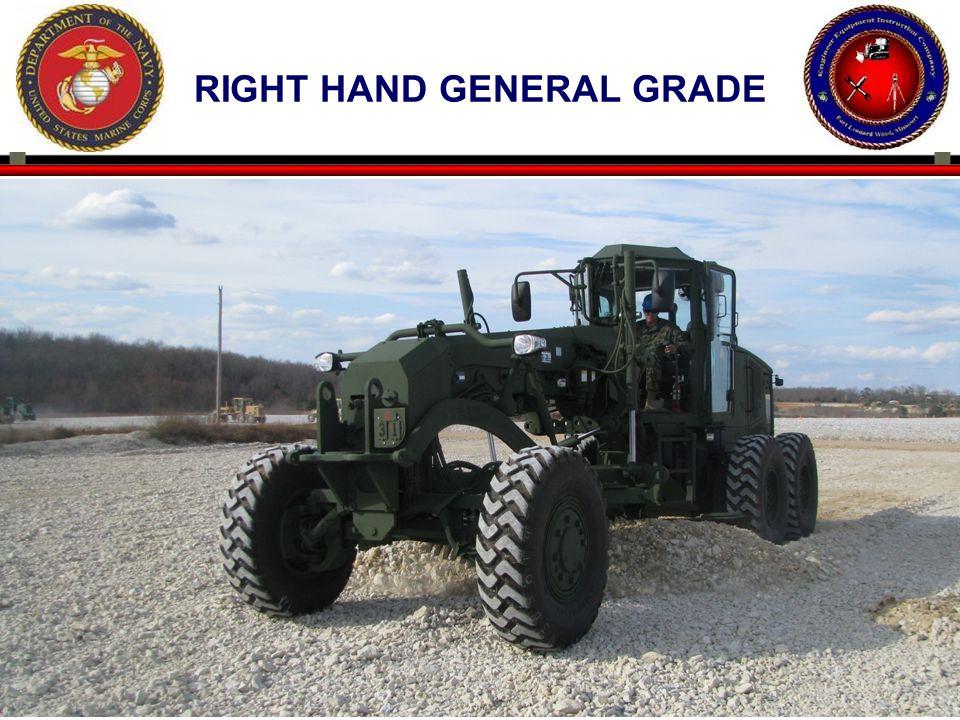 60 RIGHT HAND GENERAL GRADE