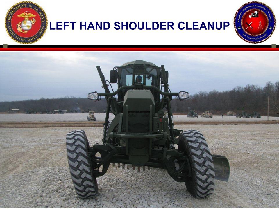 67 LEFT HAND SHOULDER CLEANUP