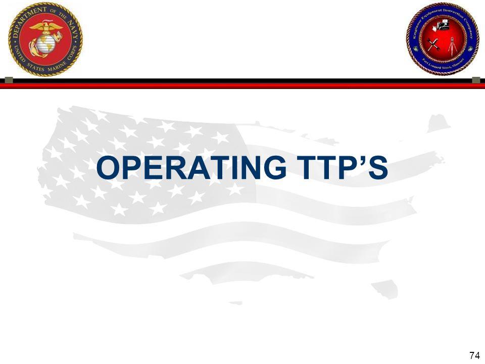 74 OPERATING TTP'S