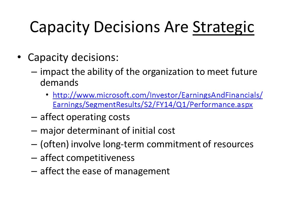 Step Costs Capacity alternatives may involve step costs, which are costs that increase stepwise as potential volume increases.