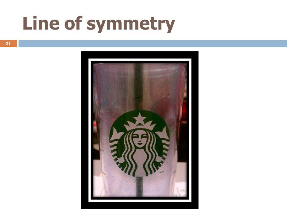 Line of symmetry 21