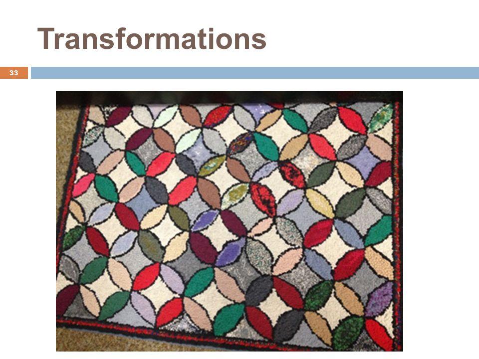 Transformations 33