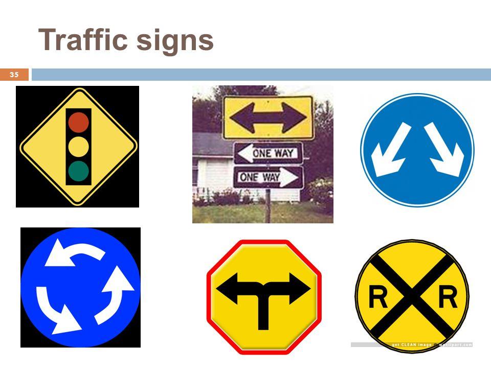 Traffic signs 35