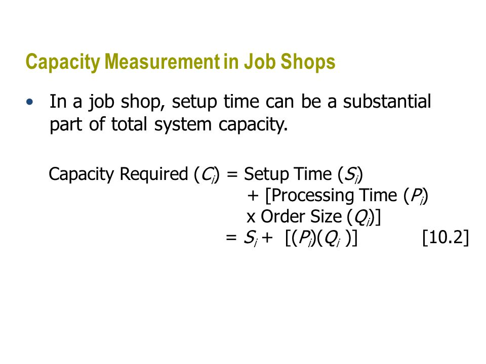 Solved Problem An automobile transmission-assembly factory normally operates two shifts per day, five days per week.