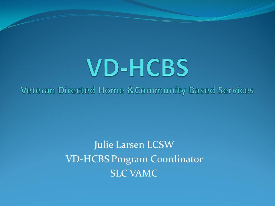 Julie Larsen LCSW VD-HCBS Program Coordinator SLC VAMC