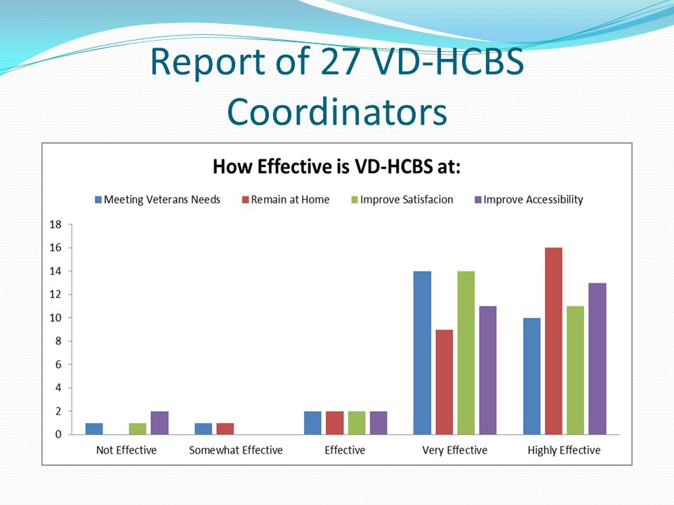 Report of 27 VD-HCBS Coordinators