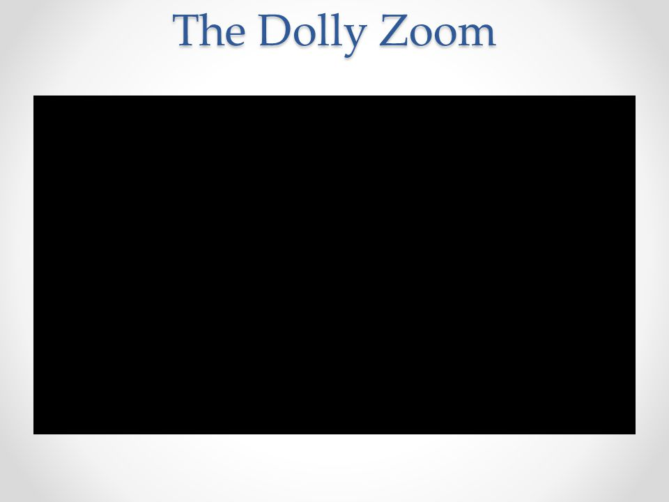 The Dolly Zoom