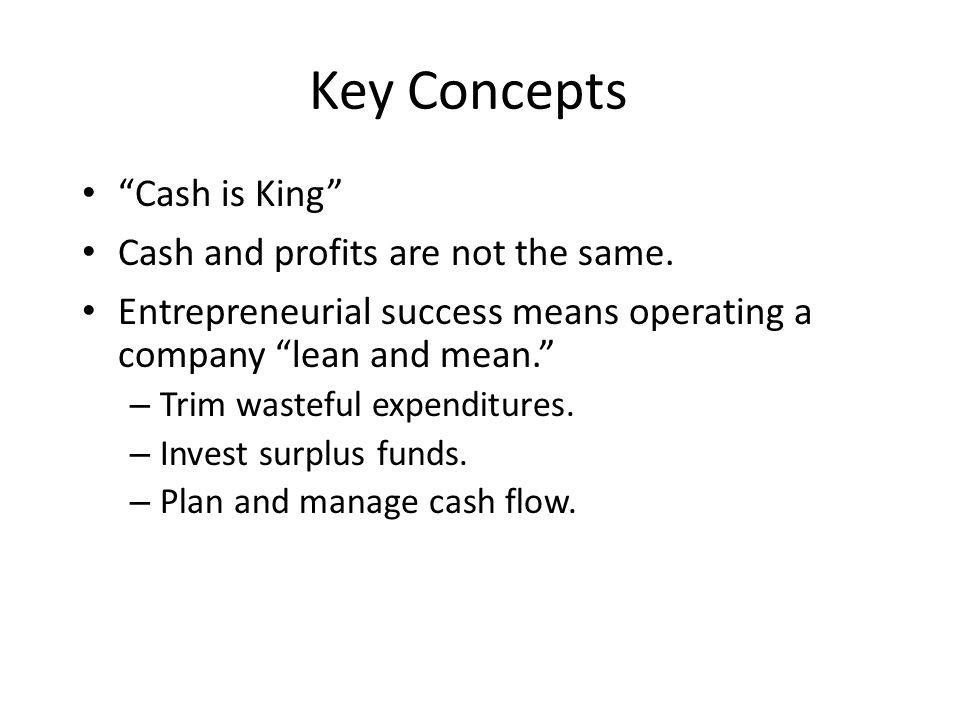 Preparing a Cash Budget 1. Determine a Minimum Cash Balance