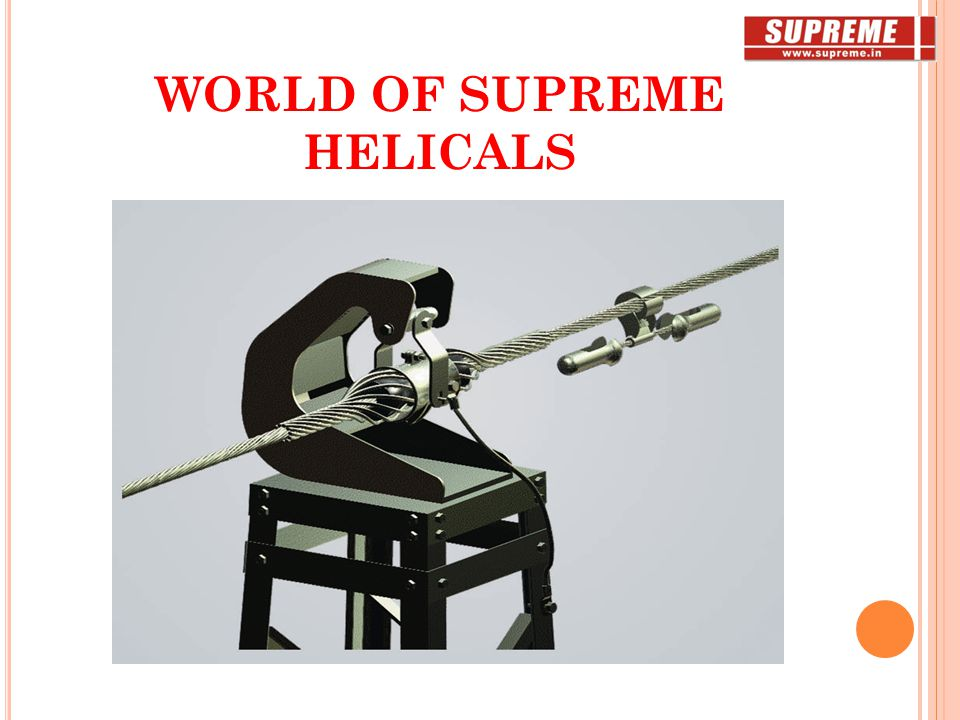 WORLD OF SUPREME HELICALS