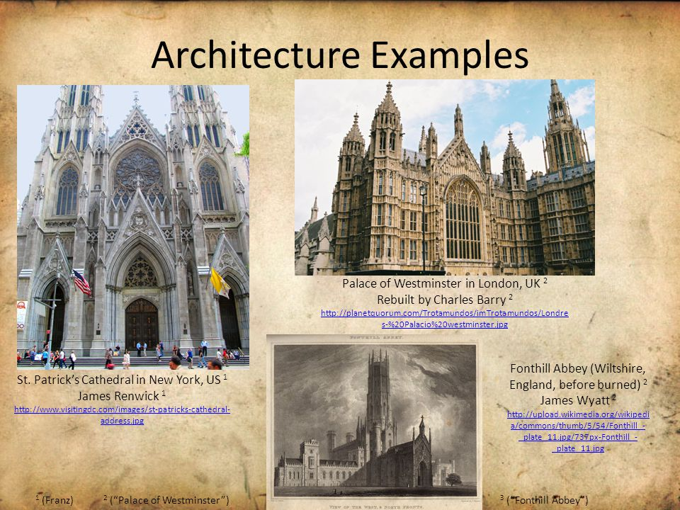 Architecture Examples St.