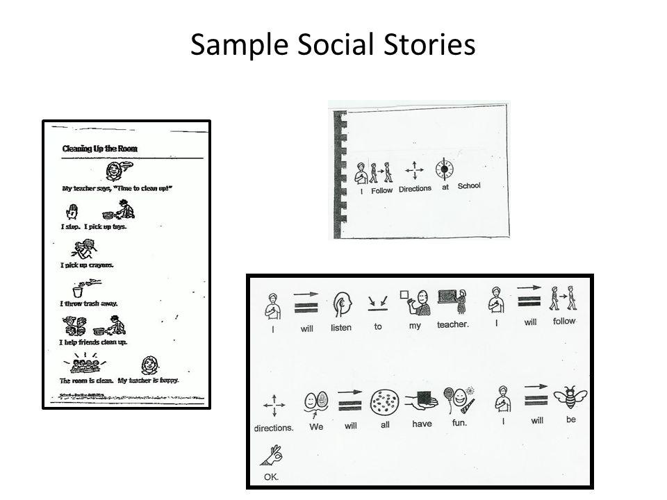 Sample Social Stories