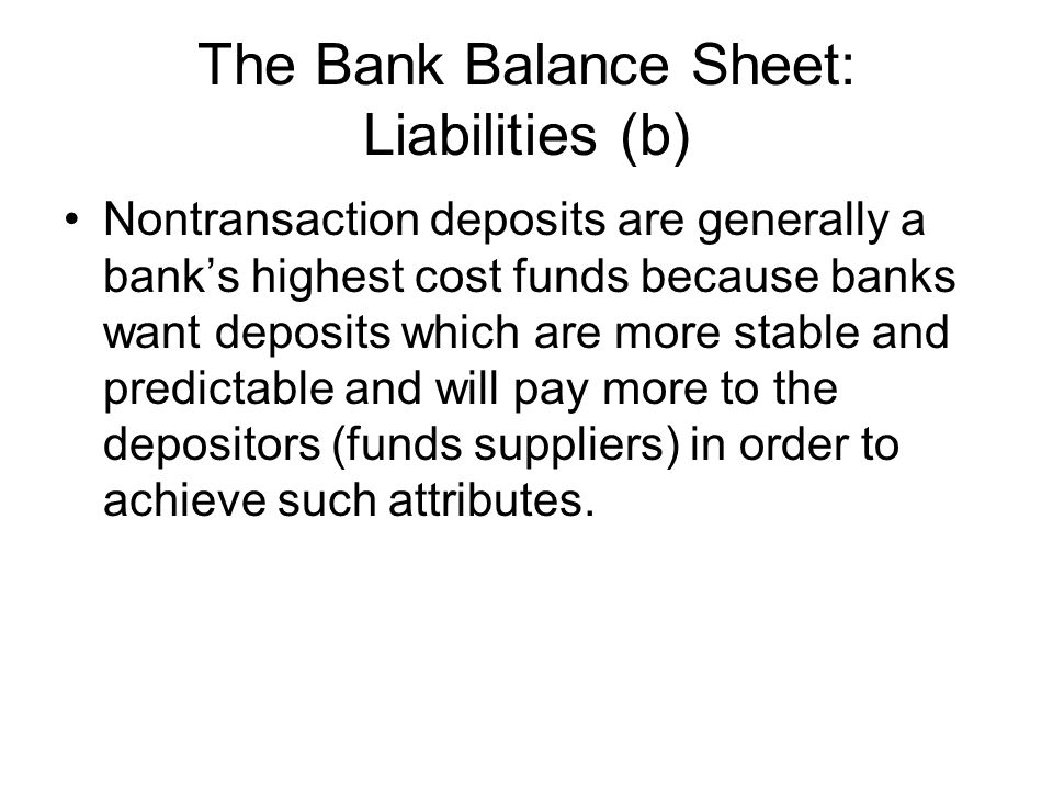 Capital Adequacy Management So, why don't banks hold want to hold a lot of capital?.