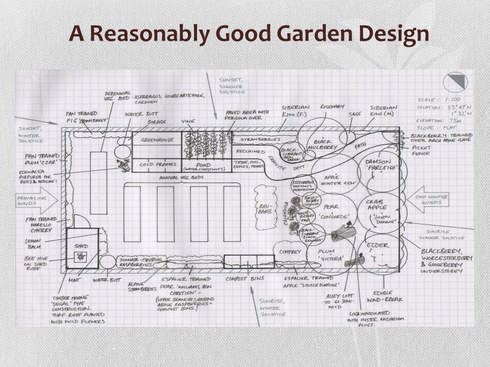 A Reasonably Good Garden Design