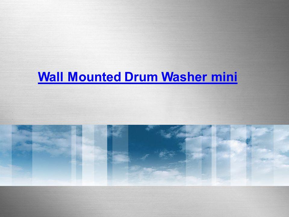 Wall Mounted Drum Washer mini